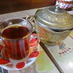 トルコ料理レストラン DENIZ デニズ - セットのチャイ