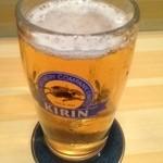正直 - 生ビール