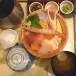 おひつごはん四六時中 - 料理写真:海鮮にぎわいおひつごはん 大盛り(1040円)