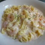 イタリアン食堂 良's - たらこクリームパスタ(フェトチーネ)