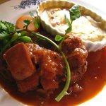 1866447 - 若鶏の赤ぶどう煮込み