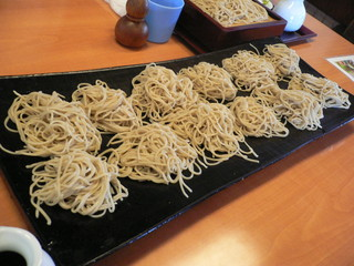 増田屋 西鶴間店 - 板そば(900円)