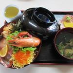 味政 - 海鮮丼 並(1000円)