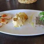 18661011 - 選べる前菜3種盛り合わせ