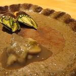 栩翁S - 亀の手と五島の牡蠣の塩辛1