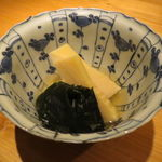 栩翁S - 白子筍の若竹煮