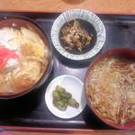 18664357 - ランチ カツ丼定食500円