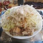 麺場 七人の侍 - ・「三郎 大盛400g 全増し(\680)」
