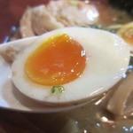麺場 七人の侍 - ・「味付卵(\100)」