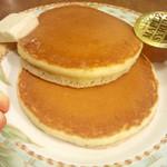 タナカコーヒ - ホットケーキ