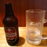 一銭酒場 えびす - ホッピーセット(白)350円