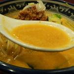 18668238 - 坦々麺のスープ