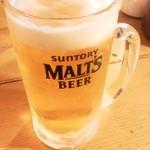 18668502 - 生ビール