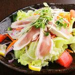 焼鳥とり萬 - とり萬サラダ