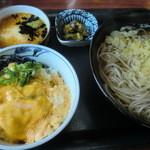 くれ竹 - そば定食
