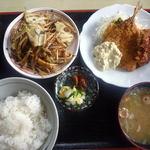 めし屋はないち - <2013/04/30>中華味噌炒めとアジフライ