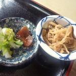 めし屋はないち - <2013/04/30>セットの手作り小鉢