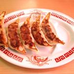 ラーメン ゆうきや - 特製肉餃子