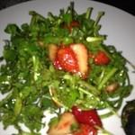 18671744 - クレソンとイチゴのサラダ