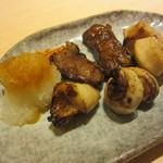 寿司田 - 大とろスジ焼き