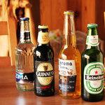 うえき屋カフェ272 - ビールも各種ございます。