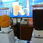 伊豆オレンヂセンター - ブルーベリージュースもありますが、一押しは『オレンヂ』