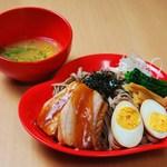ローリング蕎麦ットJ - ゆず塩ジャーマン(全部のせ)