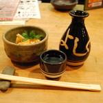 四国三郎 よしの川 - 付け出しとお酒