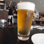 ザ シティ ベーカリー ブラッスリー ルービン - 生ビールは「キリン一番搾り」