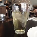 ザ シティ ベーカリー ブラッスリー ルービン - お茶はアイス ジャスミンティ