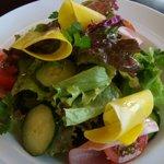 ヴィア ナポリ - シェフの気まぐれ生野菜サラダ