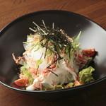 旬菜 あかり家 - 桜エビの長芋大根サラダ