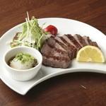 旬菜 あかり家 - 鹿児島和牛サーロイン炙り焼き