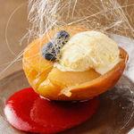 酒場~ル DEN - リンゴのオーブン焼