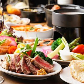 本格レストランの味をお気軽にお楽しみいただけるコースをご用意しております。