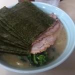 武蔵家 - チャーシュー麺海苔増し