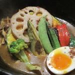 北海道スープカリー専門店 マナ - 料理写真:mannnaスペシャル。具沢山♪