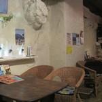 北海道スープカリー専門店 マナ - 居心地・雰囲気の良い店内