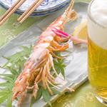 さとの家 - 『海老の塩焼き』、『ハンバーグステーキ』、『チリソース』などジャンルにこだわらない料理が味わえます。