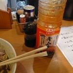 麺屋三郎 - 調味料たち