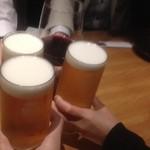 18684600 - 乾杯ビール&ワイン