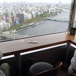 18685847 - 隅田川沿いの席でも…