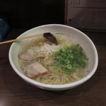 栗ちゃん - 栗ちゃん@塩ラーメン 700円