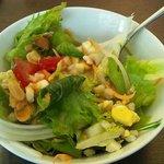 パタジェ - ランチセットのサラダ。ドレッシング美味しい