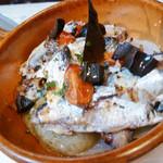 ジュスティーツィア ラ カーサ ディ コケ - オイルサーディンとジャガイモのオーブン焼き 850円