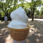 千葉市動物公園 森のレストラン - ソフトクリームSサイズ