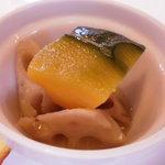 pecoramou - 夏野菜の炊き合わせ