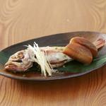 鯔背屋 - 魚の煮付け 2000円 (前日までの予約に限る)