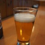 寿司 菜の花 - ドリンク写真:当然のビール