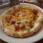 ぴそりーの - 料理写真:今回選んだピッツァ 「農園風ピッツァ」